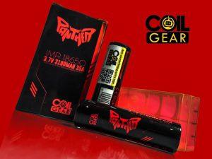 Authentic CoilGear Red Panther 18650 3100mAh 35A Batre Vape Vapor